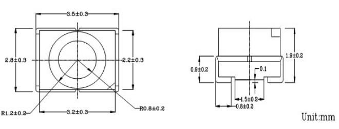 易于使用在dc电路-光敏传感器电流随光的变化