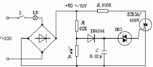 光敏电阻调光电路